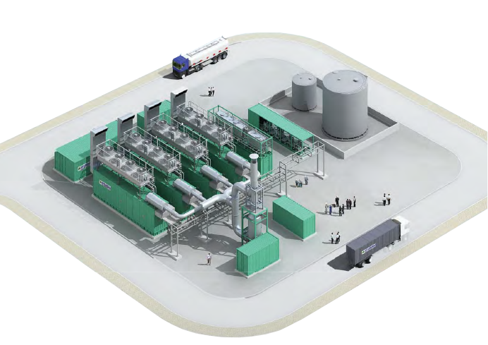 Package Power Plant