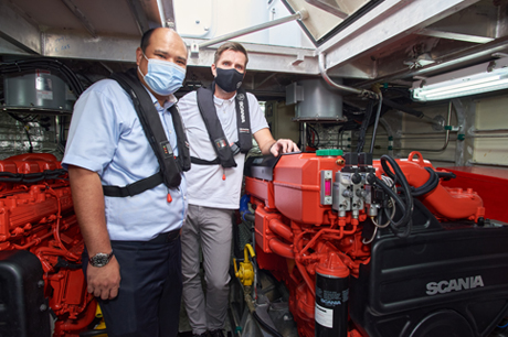Scania Engines Gain Traction in the Marine Industry in Singapore