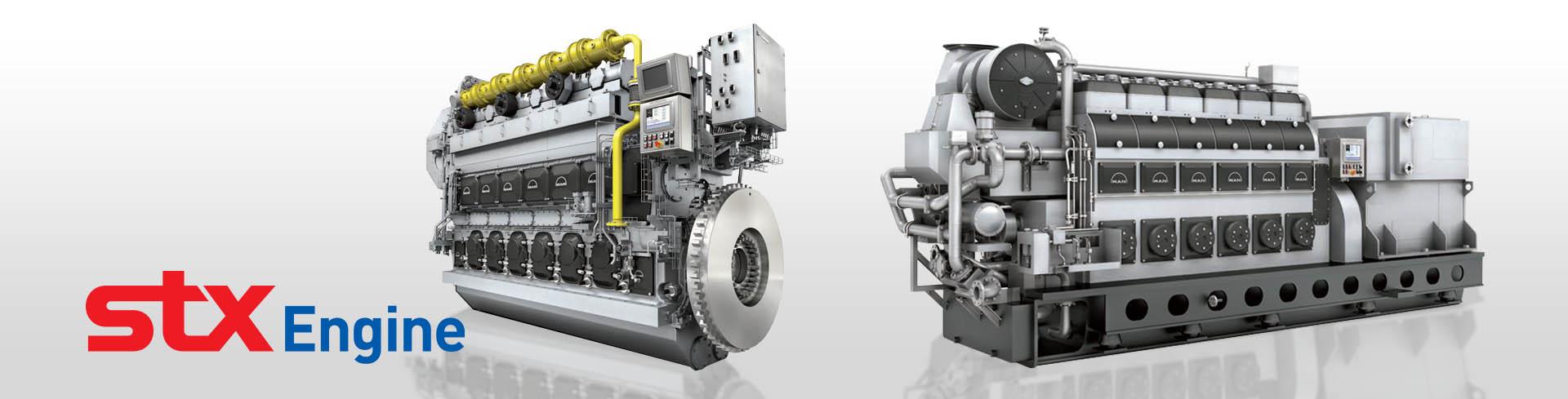 Man Medium Speed Engine